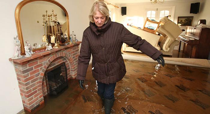 UK flooding effects on housing market