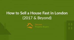 Sell house fast in London